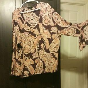Venezia Bell sleeve blouse
